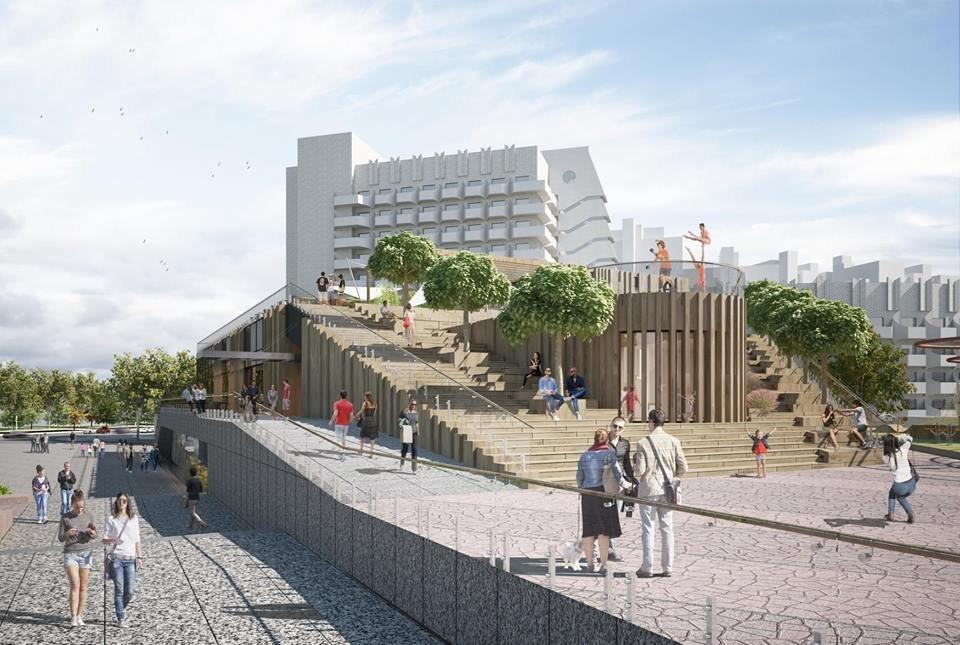 В Днепре планируют капитально реконструировать площадь перед цирком: как это будет выглядеть, - ФОТО, фото-3