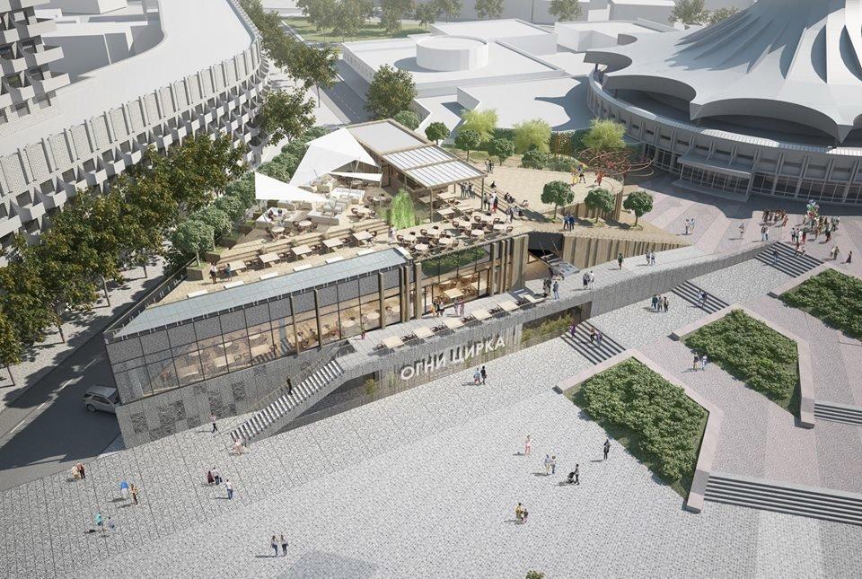 В Днепре планируют капитально реконструировать площадь перед цирком: как это будет выглядеть, - ФОТО, фото-6