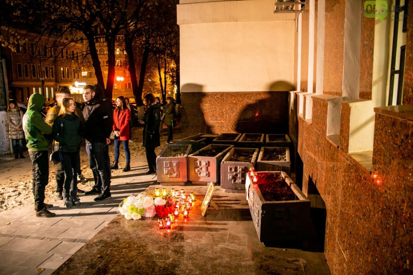 «Чтобы полиция передала «привет» на Киев»: в Днепре прошел вечер памяти погибшей активистки Кати Гандзюк, - ФОТО, ВИДЕО, фото-5