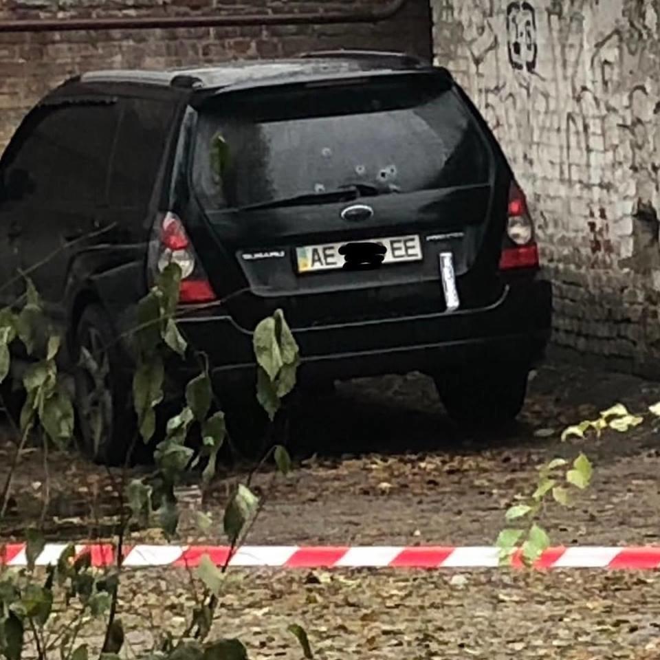 В Днепре ночью расстреляли иномарку: полиция открыла уголовное дело, - ФОТО, фото-1