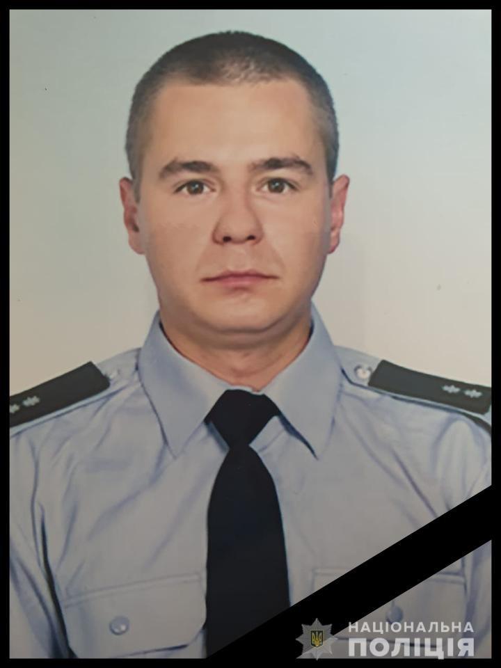 Под Днепром в аварии погиб полицейский: его машина врезалась в дерево и загорелась, - ФОТО, фото-1