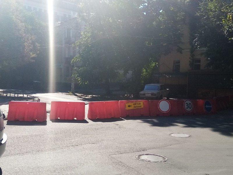 В Днепре улицу Баррикадную перекрыли на реконструкцию: что там будут делать, фото-7