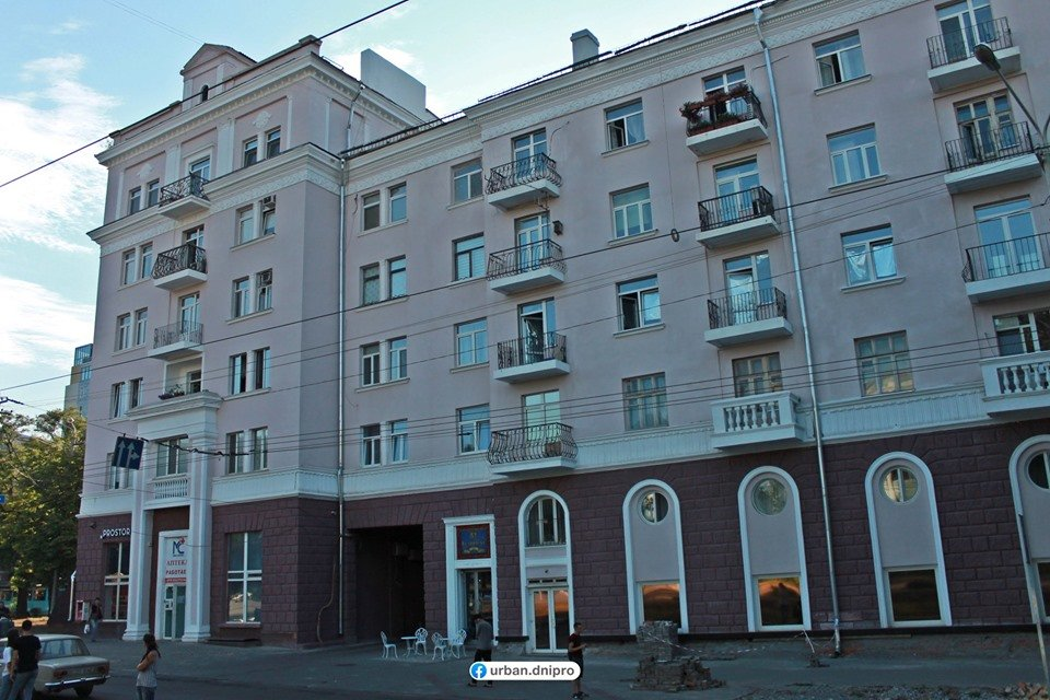 Демонтаж кондиционеров и спутниковых тарелок: как проходит реставрация фасадов в центре Днепра, - ФОТО, фото-1