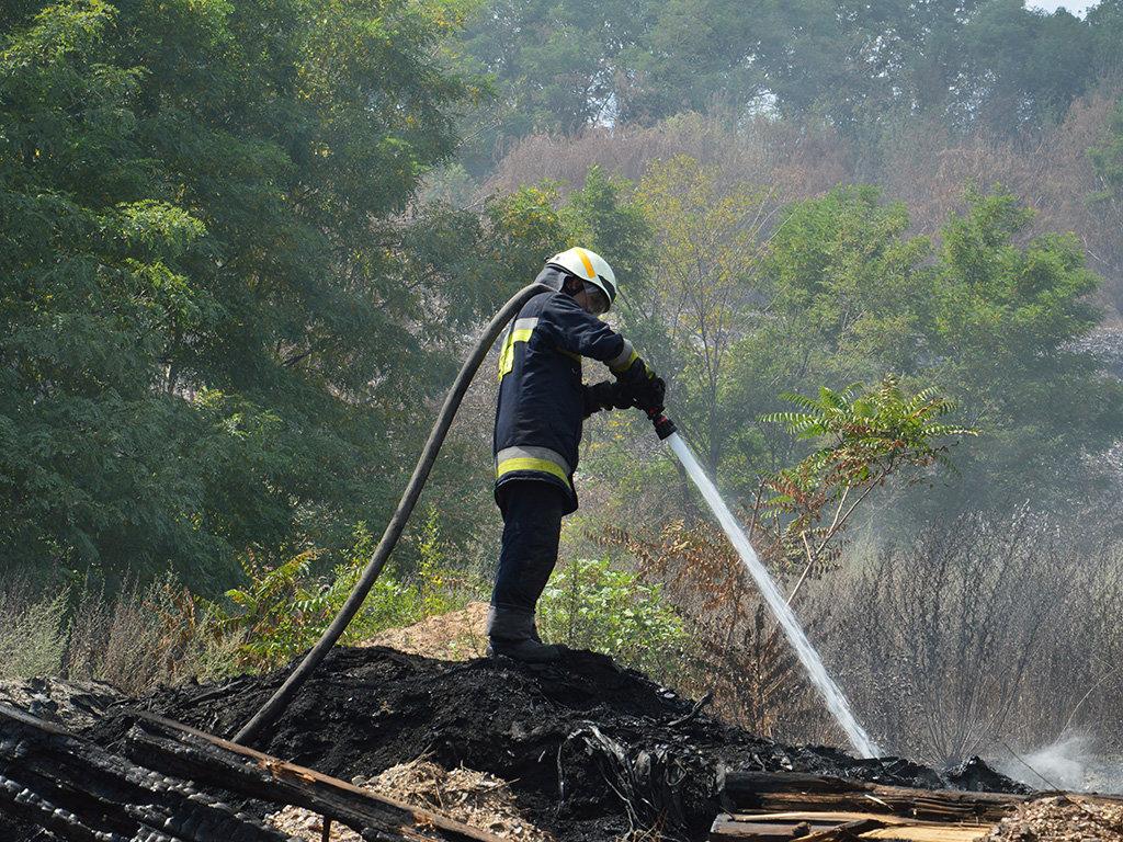 Масштабный пожар под Днепром: пожарные с самого утра борются с огнем, - ФОТО, ВИДЕО, фото-3