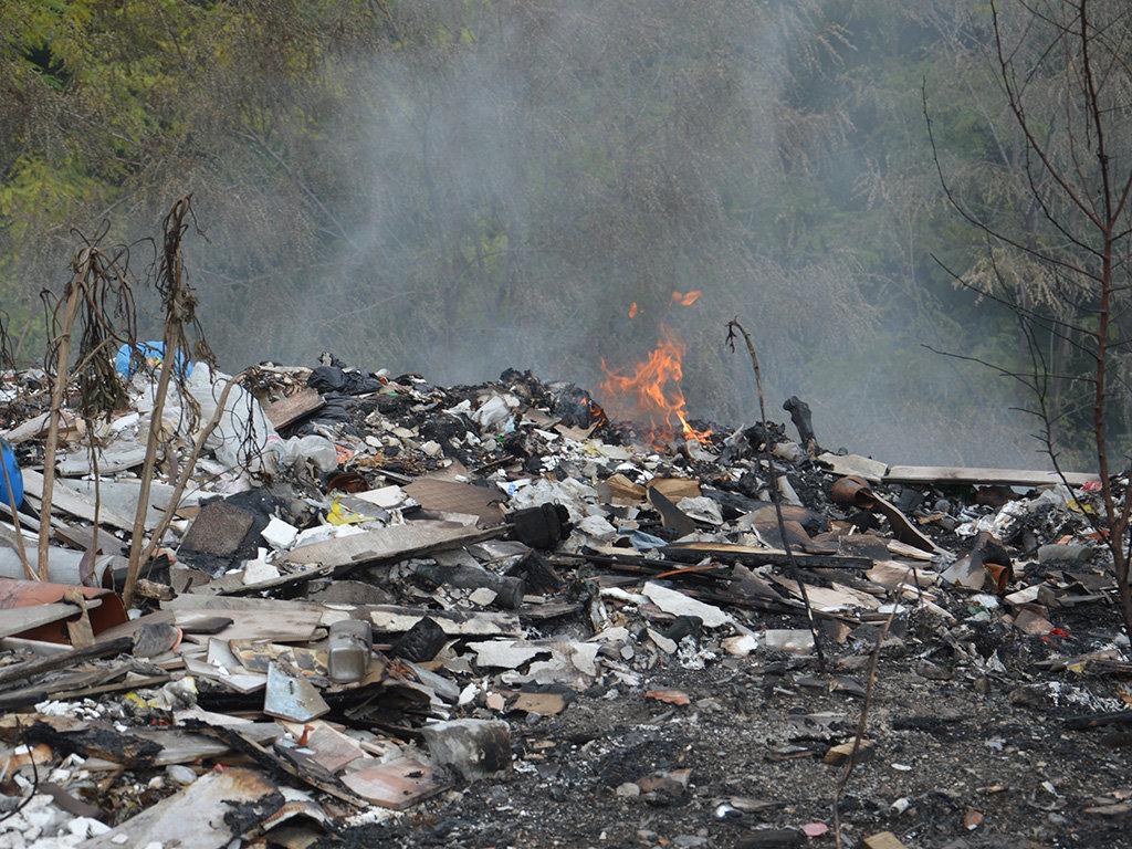 Масштабный пожар под Днепром: пожарные с самого утра борются с огнем, - ФОТО, ВИДЕО, фото-4