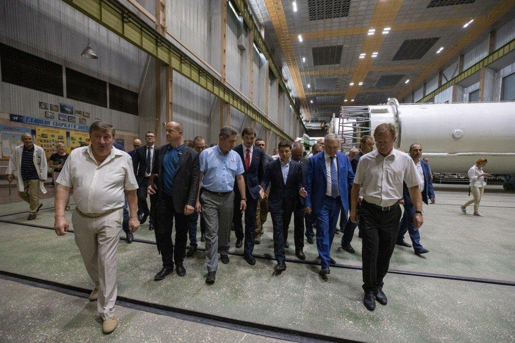Зеленский посетил КБ «Южное» в Днепре: как прошел визит, - ФОТО, фото-2