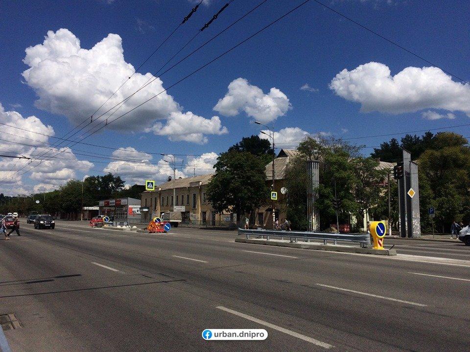В Днепре на Слобожанском проспекте устанавливают островки безопасности, - ФОТО, фото-5