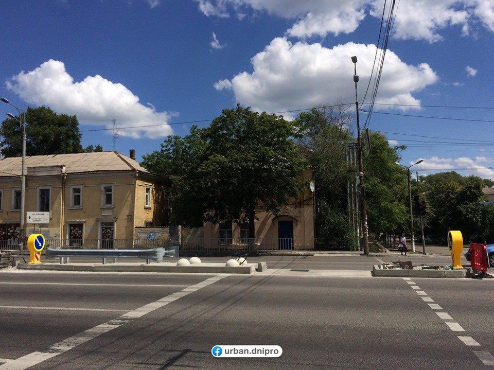 В Днепре на Слобожанском проспекте устанавливают островки безопасности, - ФОТО, фото-3