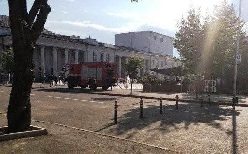 Пожар под Днепром: в центре города горело кафе, - ФОТО, фото-1