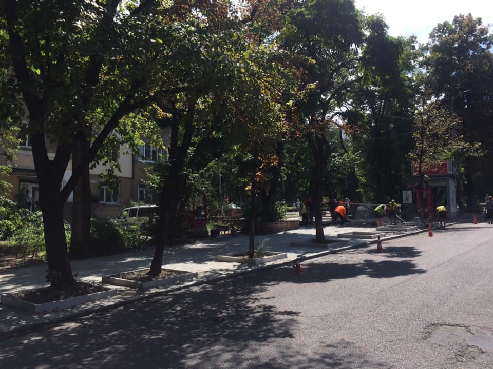 В Днепре ремонтируют улицу Яворницкого, ведущую к парку Шевченка, - ФОТО, фото-4