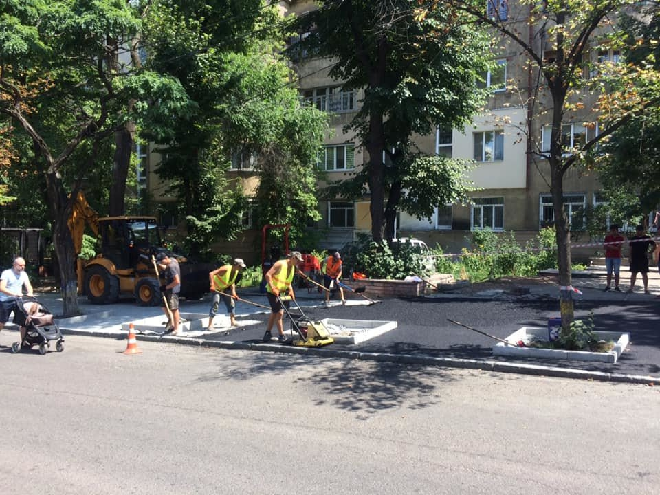 В Днепре ремонтируют улицу Яворницкого, ведущую к парку Шевченка, - ФОТО, фото-3