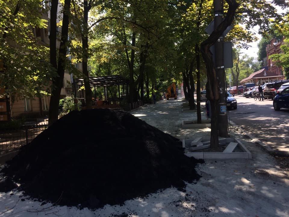 В Днепре ремонтируют улицу Яворницкого, ведущую к парку Шевченка, - ФОТО, фото-5