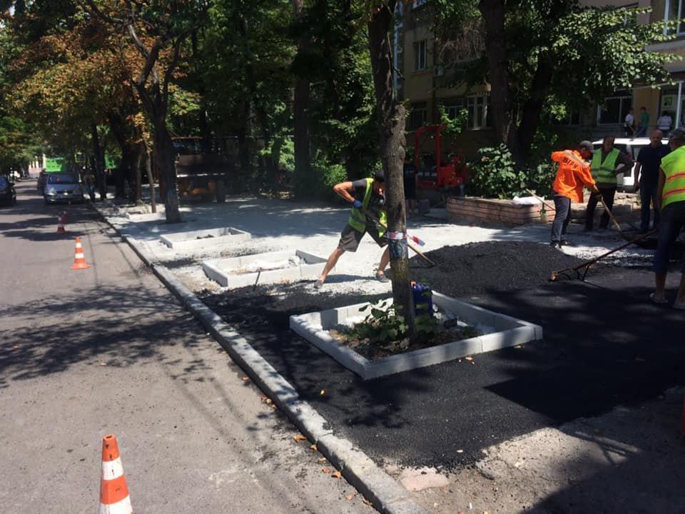 В Днепре ремонтируют улицу Яворницкого, ведущую к парку Шевченка, - ФОТО, фото-2