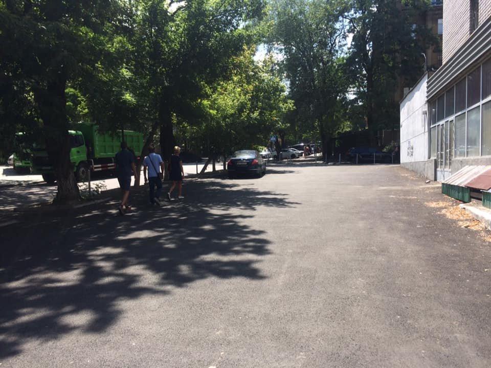 В Днепре ремонтируют улицу Яворницкого, ведущую к парку Шевченка, - ФОТО, фото-8