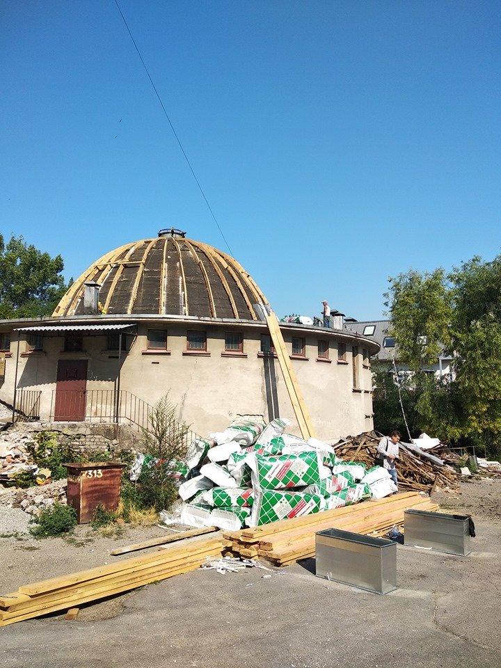 Как проходит реконструкция планетария в Днепре, - ФОТО, фото-5