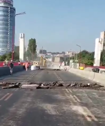 Пешеходный Новый мост, пробки и задержка маршруток: как обстоит ситуация на дорогах Днепра, - ФОТО, фото-4