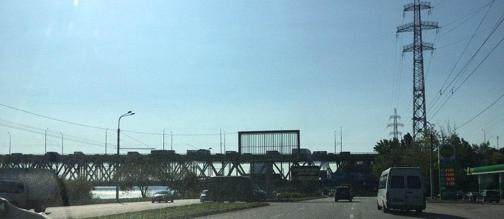 Пешеходный Новый мост, пробки и задержка маршруток: как обстоит ситуация на дорогах Днепра, - ФОТО, фото-1