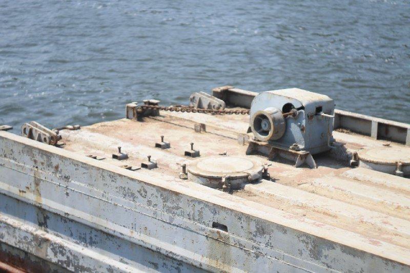 В Днепре построили понтонный мост на Монастырский остров: как это выглядит, фото-3