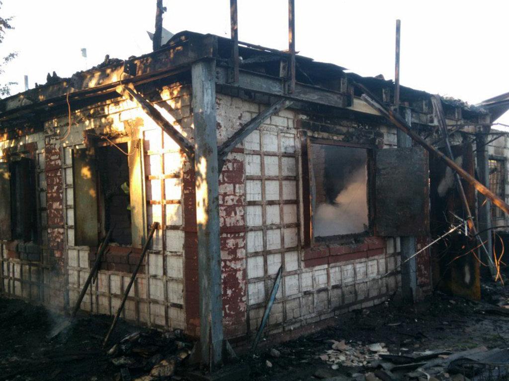 На Днепропетровщине на пожаре погиб ребенок, - ФОТО, ВИДЕО, фото-1
