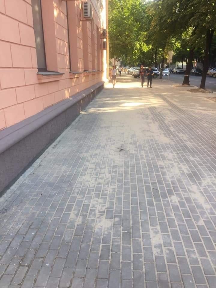 Ремонт фасада и тротуара на Воскресенской закончили: как это выглядит, - ФОТО, фото-3