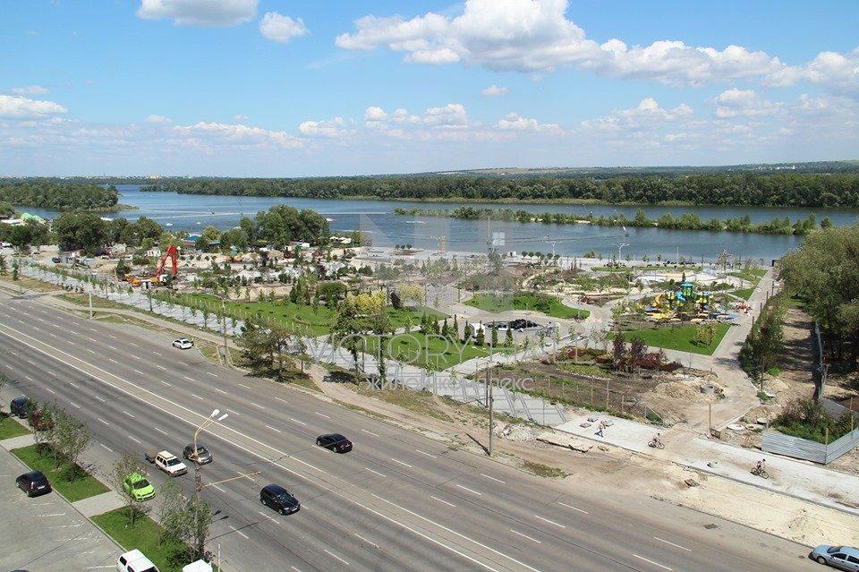Строительство сквера «Прибрежный» в Днепре: как это выглядит с высоты птичьего полета, - ФОТО, фото-1