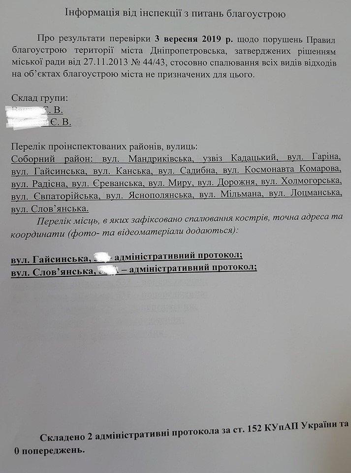 В Днепре выписывают штрафы тем, кто разжигает костры, - ФОТО, фото-2