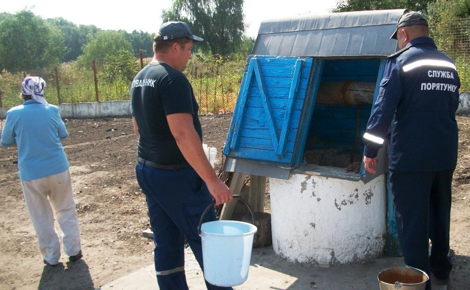В Днепропетровской области спасатели помогли бабушке в хозяйстве, - ФОТО  , фото-1