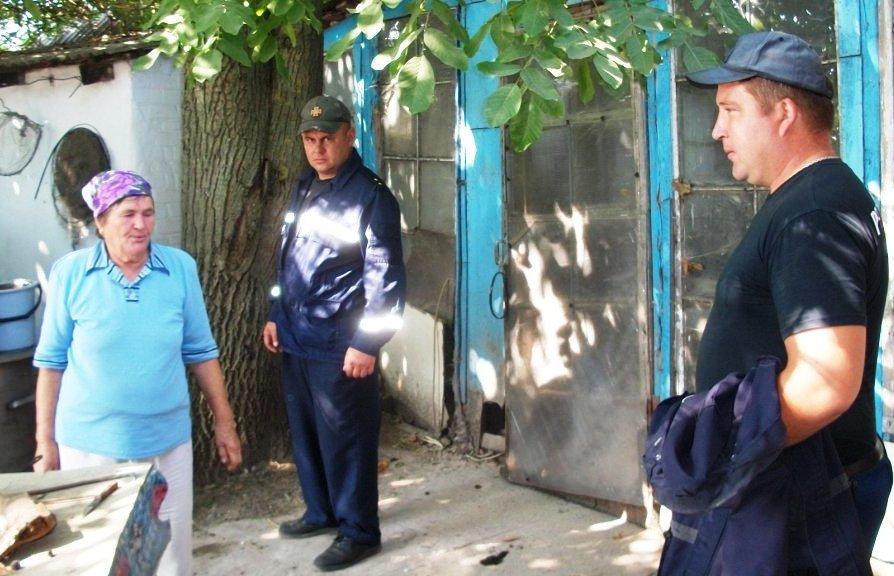 В Днепропетровской области спасатели помогли бабушке в хозяйстве, - ФОТО  , фото-3