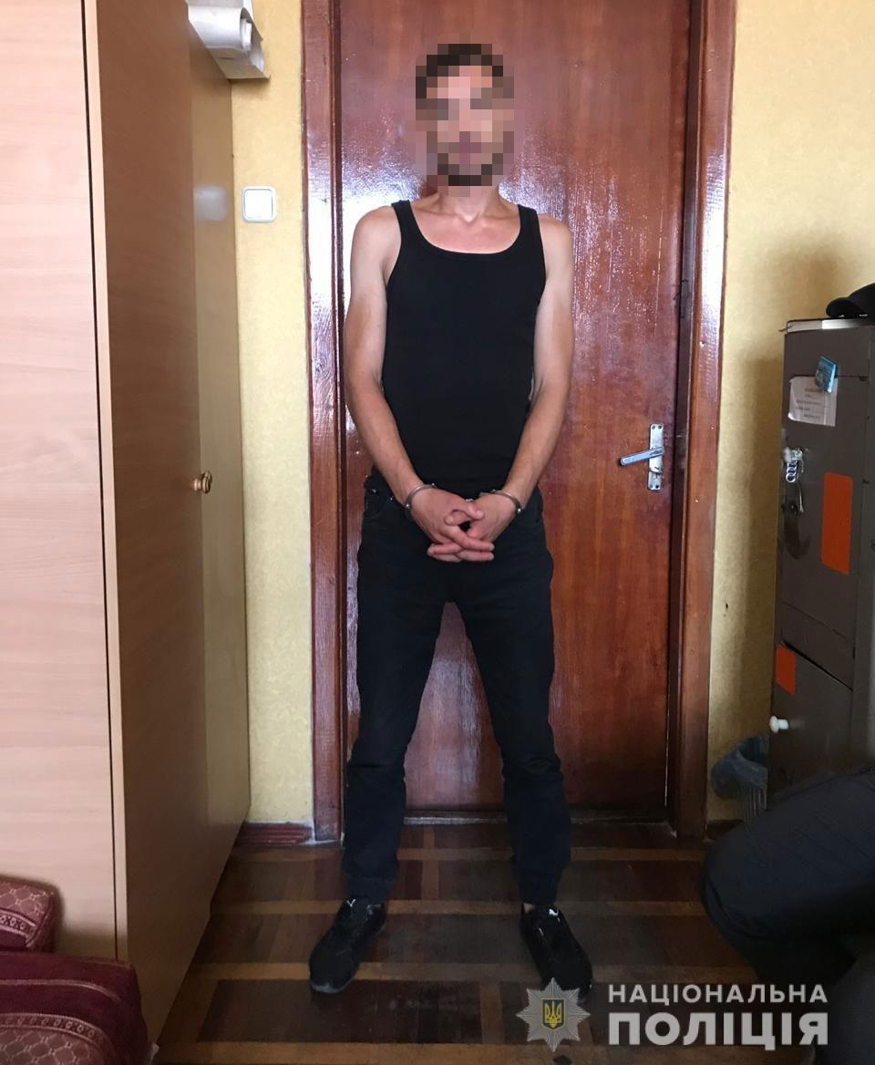В Днепре задержали автоугонщика с тросом, - ФОТО, фото-1