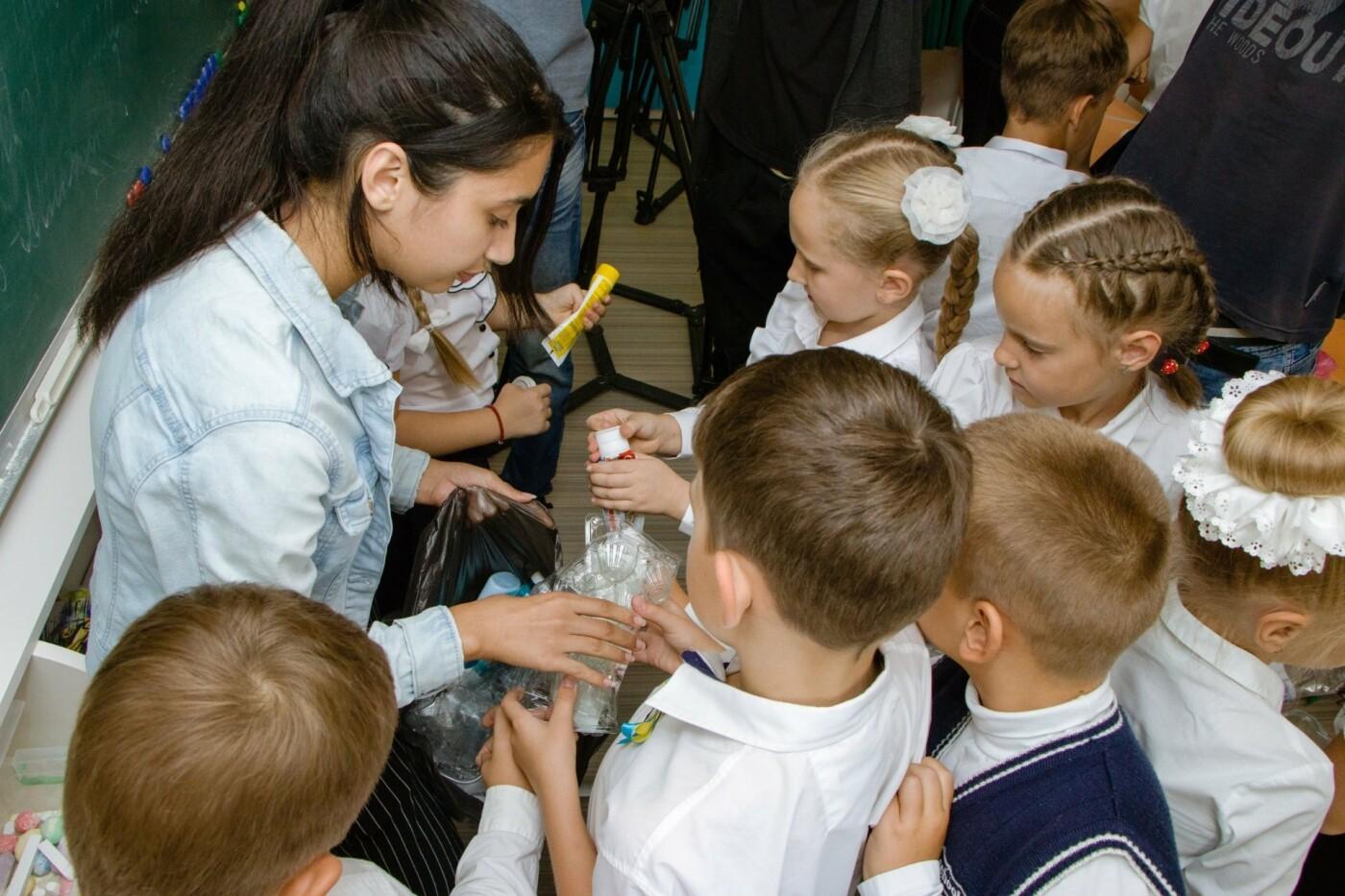 В школах Днепра детей учат сортировать мусор, - ФОТО, фото-3
