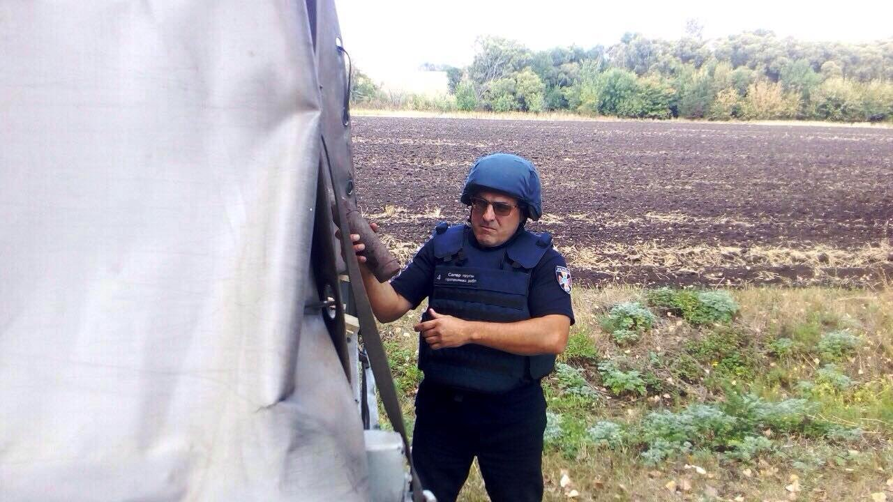На Днепропетровщине обезвредили артиллерийский снаряд и авиабомбу,- ФОТО, фото-2