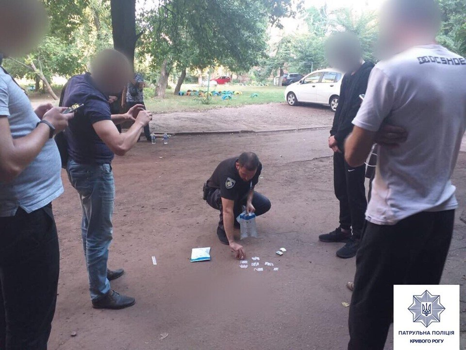 В Днепропетровской области поймали мужчин с партией наркотиков, - ФОТО, ВИДЕО, фото-1