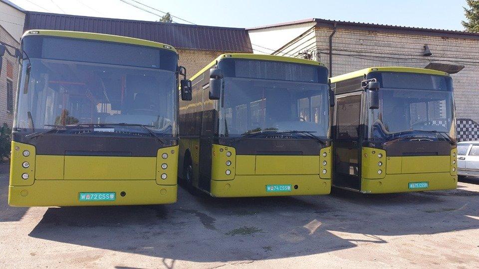 В Днепр привезли автобусы на замену маршруткам, - ФОТО, фото-1