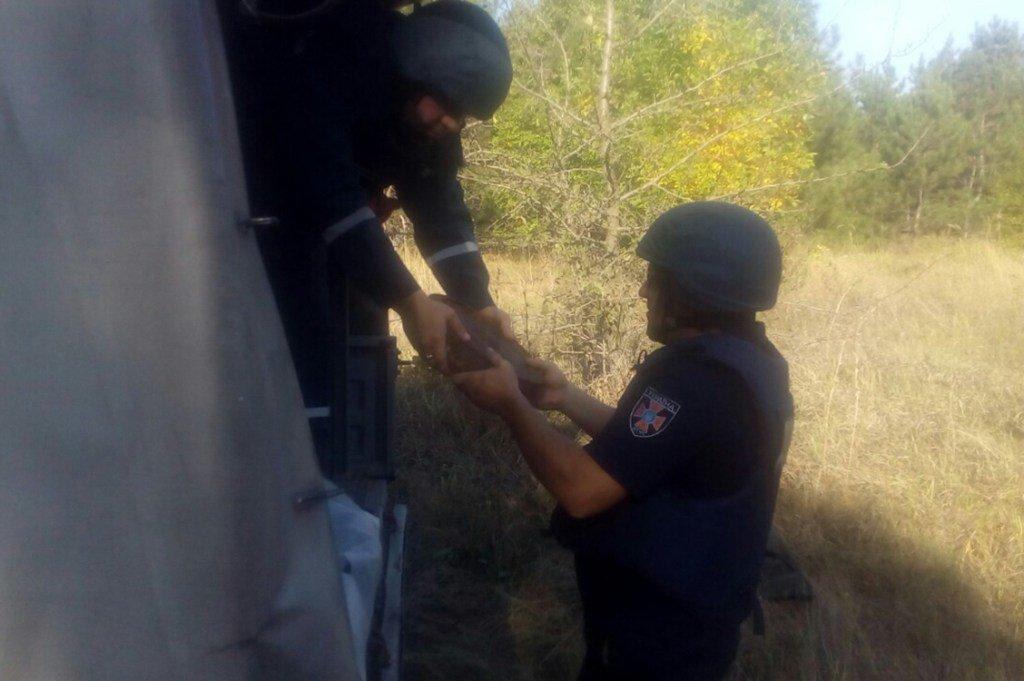 В Днепропетровской области рыбаки нашли боеприпасы, - ФОТО, фото-3