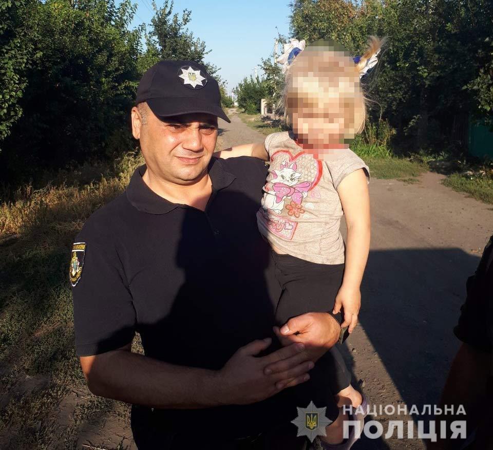 В Днепропетровской области 3-летняя девочка вышла погулять и потерялась - ФОТО, фото-1