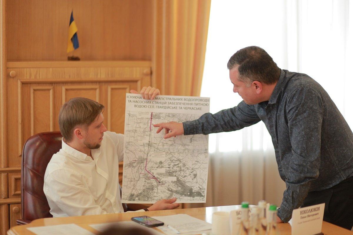 На Днепропетровщине проведут реконструкцию водогона Гвардейское-Черкасское, фото-1