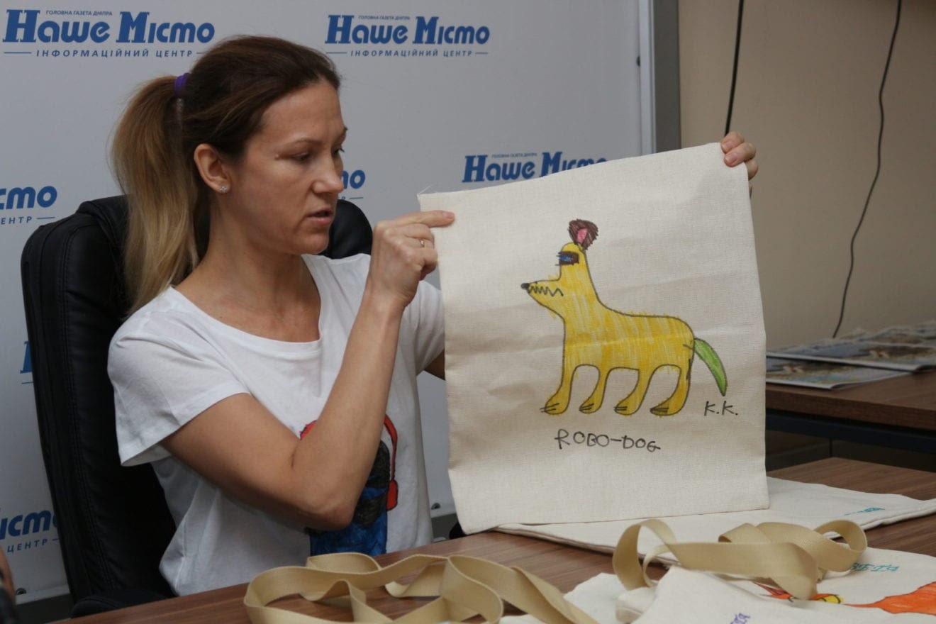 В Днепре дети с аутизмом создают уникальные эко-сумки, - ФОТО, ВИДЕО, фото-2