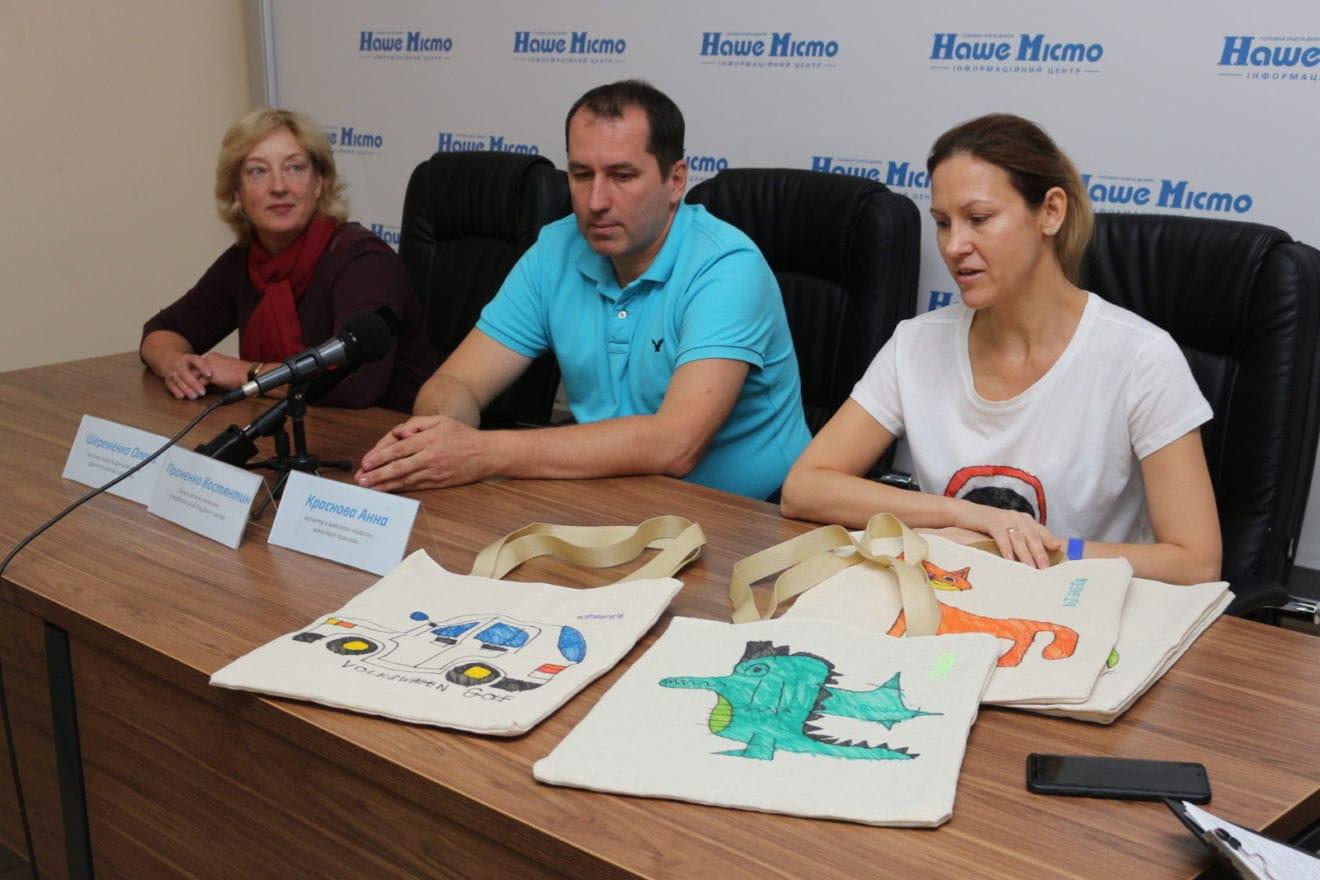 В Днепре дети с аутизмом создают уникальные эко-сумки, - ФОТО, ВИДЕО, фото-3
