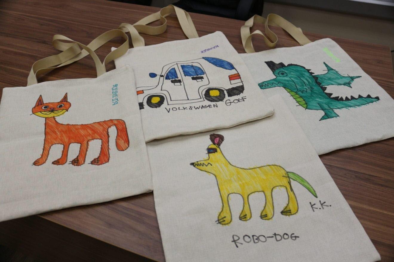 В Днепре дети с аутизмом создают уникальные эко-сумки, - ФОТО, ВИДЕО, фото-1