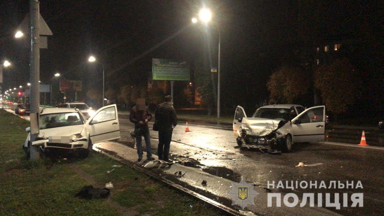 В Днепропетровской области полицейский спровоцировал ДТП,- ФОТО, фото-1