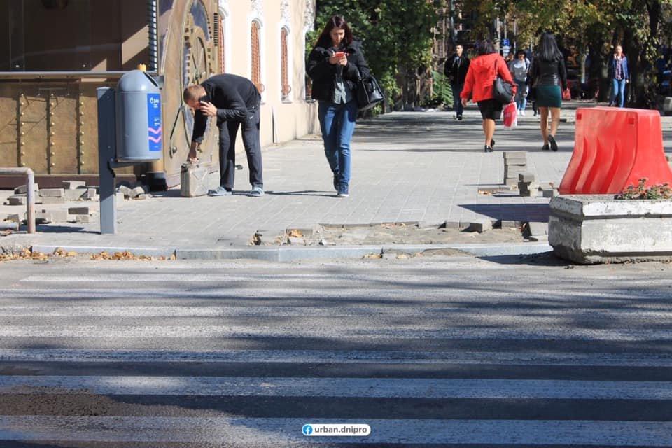 В Днепре проходит капитальный ремонт улицы Баррикадной, - ФОТО, фото-12