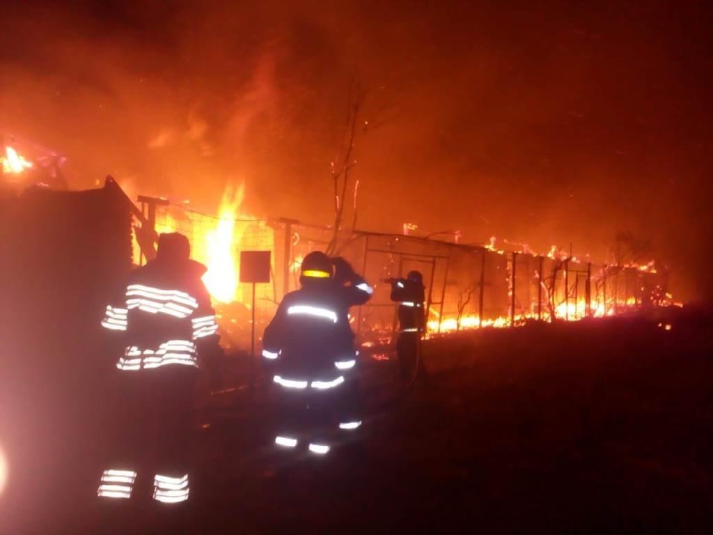 На Днепропетровщине произошел масштабный пожар, - ФОТО, фото-1