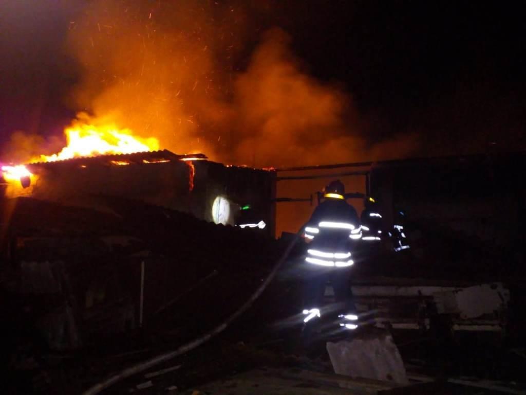 На Днепропетровщине произошел масштабный пожар, - ФОТО, фото-2