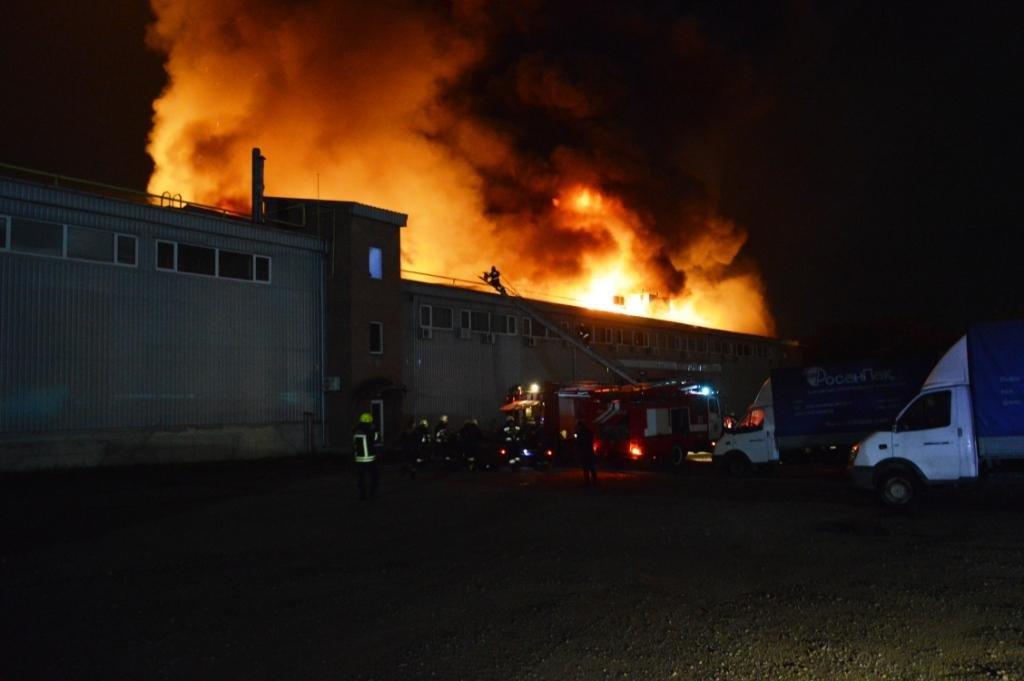 В Днепре произошел масштабный пожар на складе, - ФОТО, ВИДЕО, фото-2