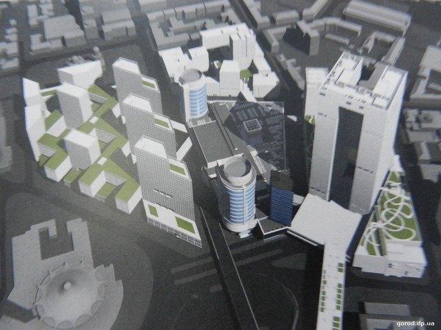 В центре Днепра расчищают территорию под строительство нового торгового комплекса, фото-6