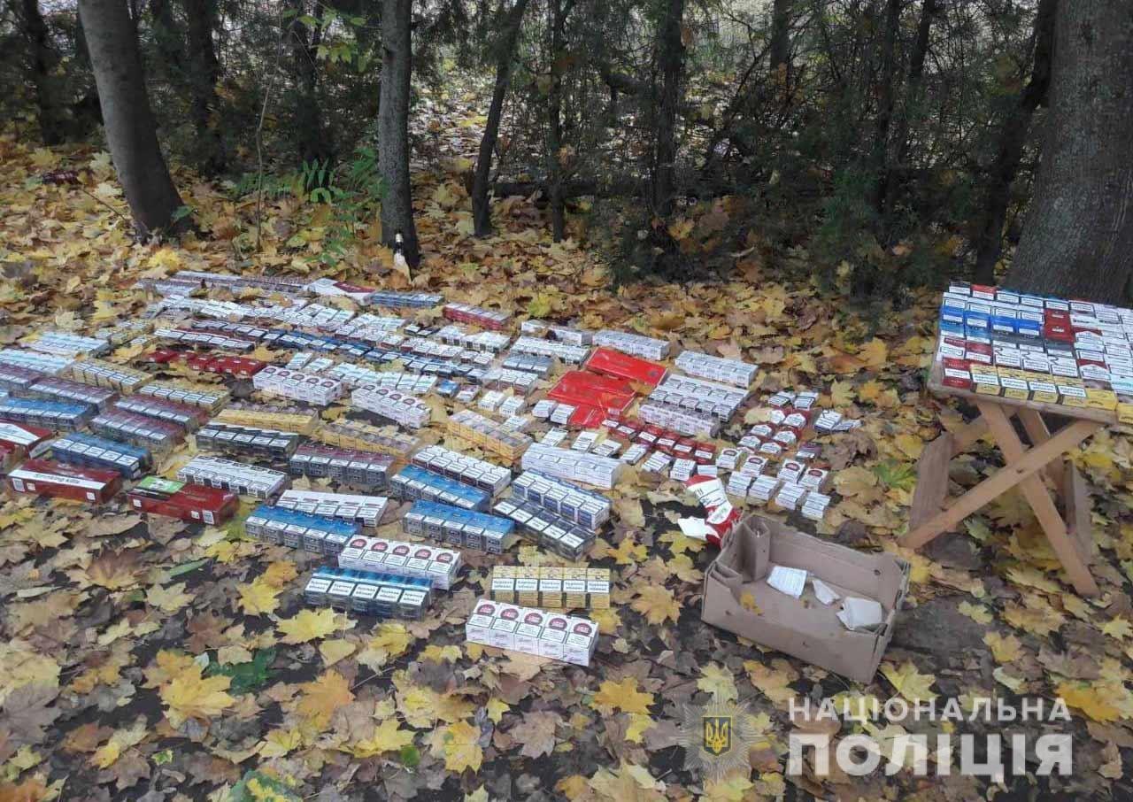Под Днепром полиция нашла более 700 пачек контрафактных сигарет, - ФОТО, фото-2