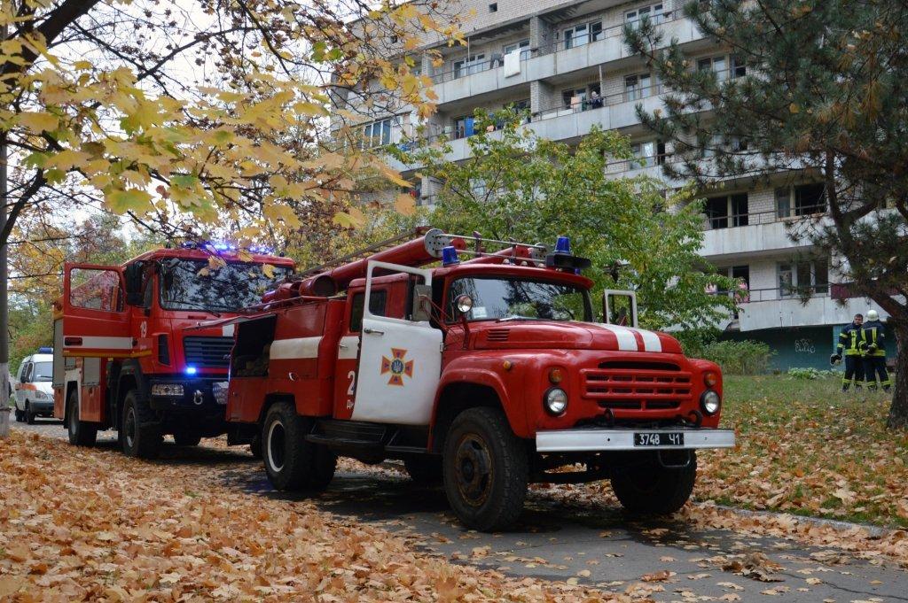 В Днепре горел гериатрический пансионат, - ФОТО, ВИДЕО, фото-1