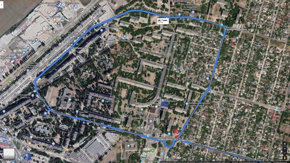 В Днепре два автобусных маршрута поменяли движение, - КАРТА, фото-1