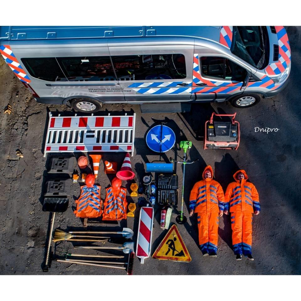 Днепровские коммунальщики приняли участие в мировом челлендже, - ФОТО, фото-1