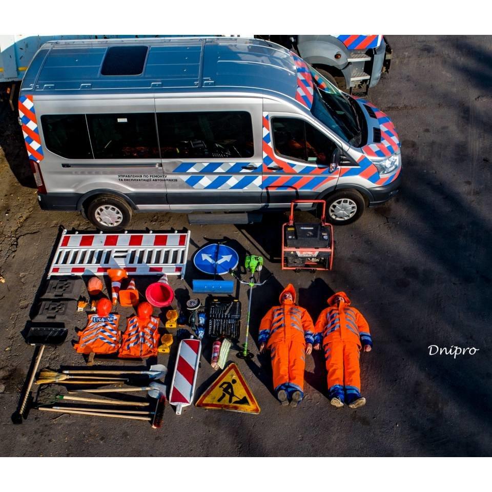 Днепровские коммунальщики приняли участие в мировом челлендже, - ФОТО, фото-2